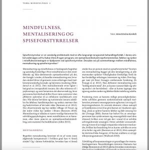 Artikel om Mindfulness